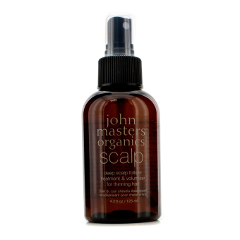 Harga John Masters Organics Deep Scalp Follicle Treatment & Volumizer (For Thinning Hair) 125ml/4.2oz - intl