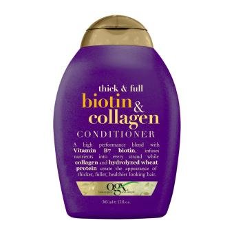 Harga OGX Thick and Full + Biotin and Collagen Conditioner
