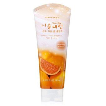 Harga Clean Dew Red Jamon Foam Cleanser