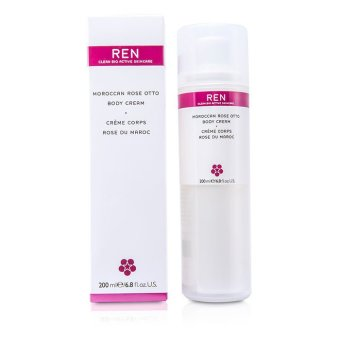 Harga Ren Moroccan Rose Otto Body Cream 200ml/6.8oz