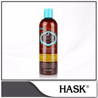 Harga HASK Argan Oil from Morocco Repairing Shampoo 355ml