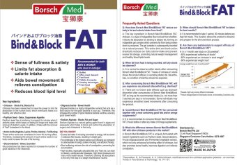 Borsch Med Bind&Block FAT - 5