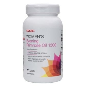 Harga GNC Women's Evening Primrose Oil 1300 (90 Softgels)