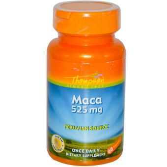 Harga WOW Nutrition Maca 60 Capsules 525 mg