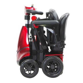 """Solax Mobie """"S"""" Foldable Mobility Scooter (Red) - 5"""