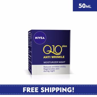 Harga Nivea Face Care for Woman Moisturiser Antiwrinkle Q10 Plus Night Care 50ml
