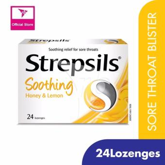 Harga Strepsils Soothing Honey & Lemon 24'S