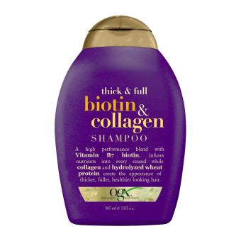 Harga OGX Thick and Full + Biotin and Collagen Shampoo