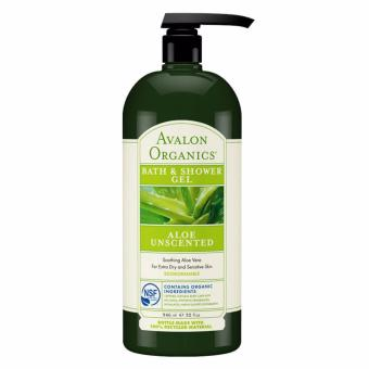 Harga Avalon Organics Unscented Aloe Hand & Body Lotion 32 fl oz