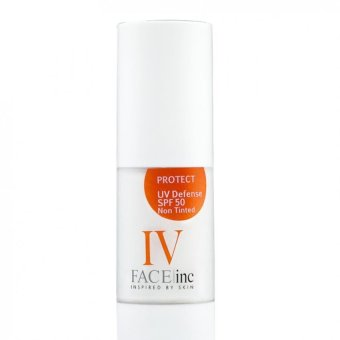 Harga The Face Inc UV Defense Non Tinted SPF50 30ml