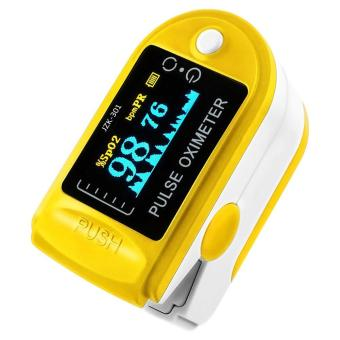 Harga niceEshop Finger Pulse Oximeter Finger Oxygen Meter With Pulse Rate Monitor, Yellow