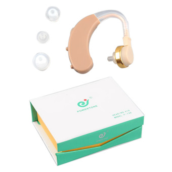 Harga OEM Mini Clear Hearing Aids Aid Sound Amplifier Volume Adjustable AXON F-138