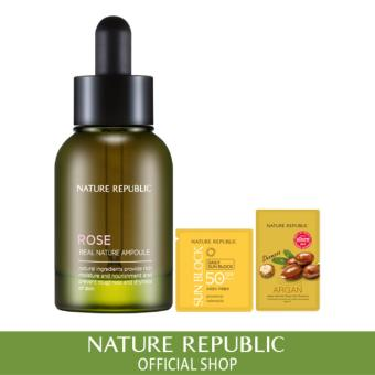 Harga Nature Republic Real Nature Ampoule Rose (2017 Renewal)