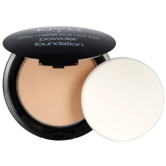 Harga NYX Stay Matte But Not Flat Powder Foundation NYX SMP05 Soft Beige