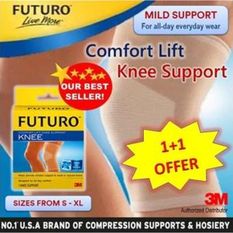 Harga (1+1 SPECIAL OFFER) FUTURO Comfort Lift Knee Support LARGE