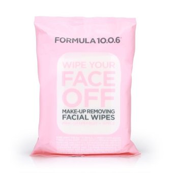 Harga Formula 10.0.6 Wipe Your Face Off Make-up Removing Facial Wipes 25pcs