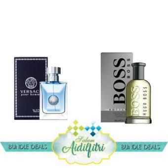 Harga Versace Pour Homme EDT Men (100ml) & Hugo Boss No. 6 EDT Men (100ml)