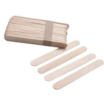 10PCS Wooden Body Hair Removal Sticks Wax Waxing Disposable Sticks - intl - 2