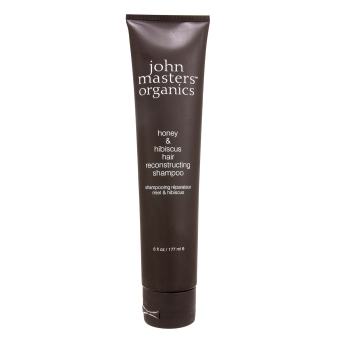 Harga John Masters Organics Honey & Hibiscus Hair Reconstructing Shampoo 6oz, 177ml (EXPORT)