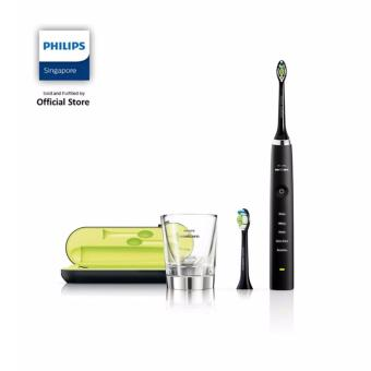 Harga Philips Black Diamond Clean Rechargeable Toothbrush - HX9352