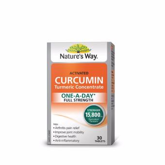 Harga Nature's Way Activated Curcumin 30 Tablets