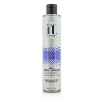 Harga AlfaParf Thats It Never Brass Shampoo (For Cool Blondes / White & Grey Hair) 250ml/8.45oz - Intl