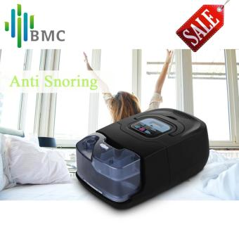 Harga BMC GI Auto CPAP Machine Black Shell Smart Home Care Respirator For Sleep Snoring Apnea Therapy With Humidifier Nasal Mask Hose - intl