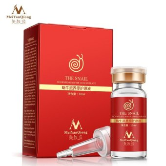 Harga High Quality Snail 100% pure plant extract Hyaluronic acid liquid whitening blemish serum ampoules anti-acne Rejuvenation Serum - intl