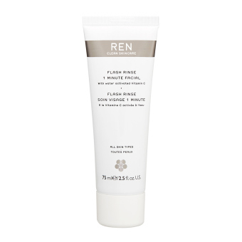 Harga REN Flash Rinse 1 Minute Facial 2.5oz, 75ml