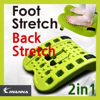 Harga IWANNA KOREA FOOT Stretch Back Stretcher Stretching - intl