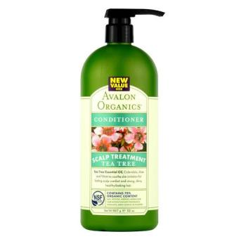Harga Avalon Organics Tea Tree Scalp Treatment Conditioner 32oz