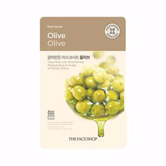 Harga The Face Shop (Olive) Real Nature Face Mask 1 Piece