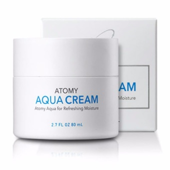 Harga Atomy Aqua Moisture Cream 80ml Korea cosmetics - intl