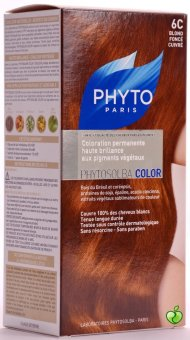Harga Phytocolor 6C Dark Coppery Blonde -Treatment Ultra Shine with Botanical Pigments