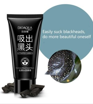 Harga Rorychen To Black Head Mask Cream Tear Off The Nose Paste Acne Oil Control Shrink Pores T Area Care - intl