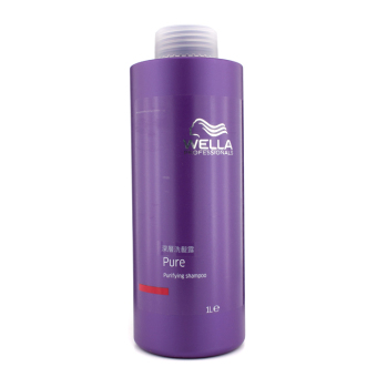 Harga Wella Pure Purifying Shampoo 1000ml/33.8oz