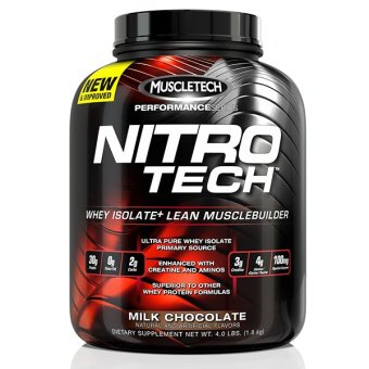 Harga MuscleTech Performance Series NitroTech (3.97lbs) - Milk Chocolate
