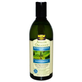 Harga Avalon Organics Peppermint Bath & Shower Gel