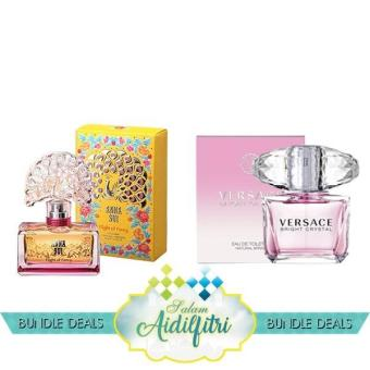 Anna Sui Flight of Fancy EDT Lady (75ml) & Versace Bright Crystal EDT Lady (90ml)