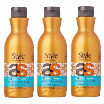 Harga Style Aromatherapy Dead Sea Moroccan Argan Conditioner 400ml x 3