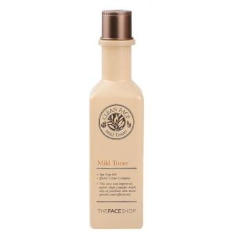 Harga THE FACE SHOP Clean Face Mild Toner 130ml