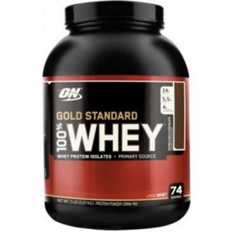 Harga OPTIMUM NUTRITION Gold Standard 100% Whey Double Rich Chocolate 5 lbs