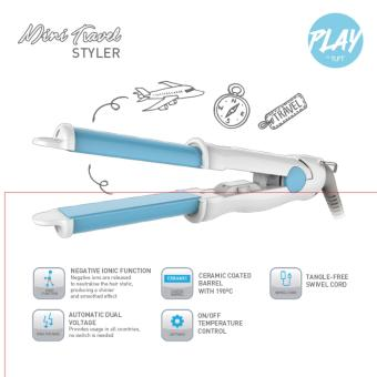 Harga PLAY by TUFT Mini Travel Styler
