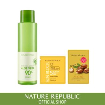 Harga Nature Republic Soothing & Moisture Aloe Vera 90% Toner