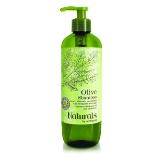 Harga Natural By Watsons Olive Hair Shampoo 500ml