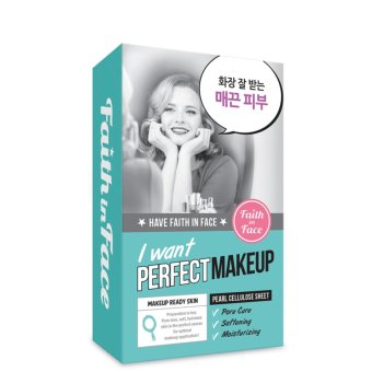 Harga Faith In Face I Want Perfect Make-Up Sheet Mask 5sheet