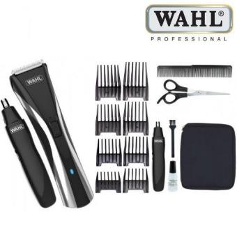 Harga WAHL Hair and Nose Trimmer 9698-317 Cord and Cordless usage with 0.8mm Precision