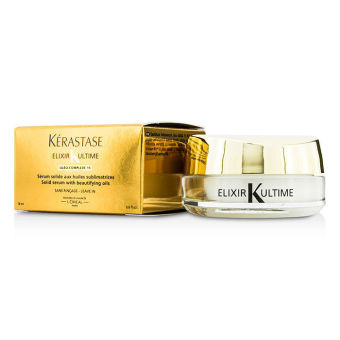Harga Kerastase Elixir Ultime Oleo-Complexe Solid Serum with Beautifying Oils - Leave In (For Dry, Damaged, Thick or Fizzy Hair) 18ml/0.6oz - intl
