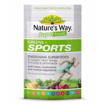 Harga Nature's Way Superfoods Greens Plus Sport 100g