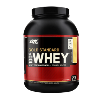 Harga Optimum Nutrition Gold Standard 100% Whey 5 lbs - French Vanilla Creme
